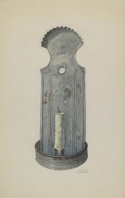 Tin Wall Sconce