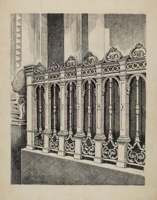 Cast Iron Fence