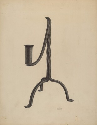 Three Legged Candlestick