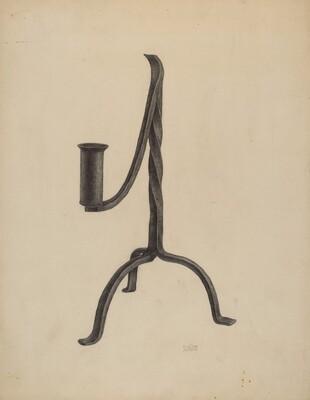 Three Legged Candlestick