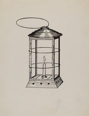 Comstock Miner's Lantern
