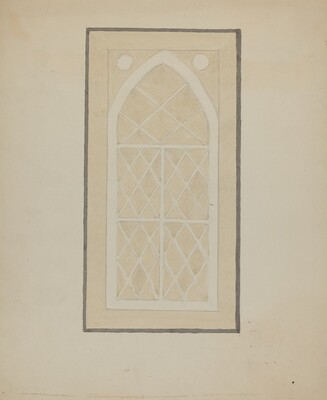 Panel from Hall Lantern