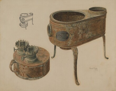 Kerosene Lamp Heater
