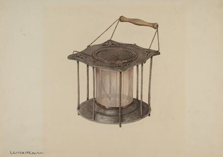Combined Stove and Lantern