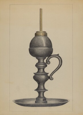 Camphene Lamp
