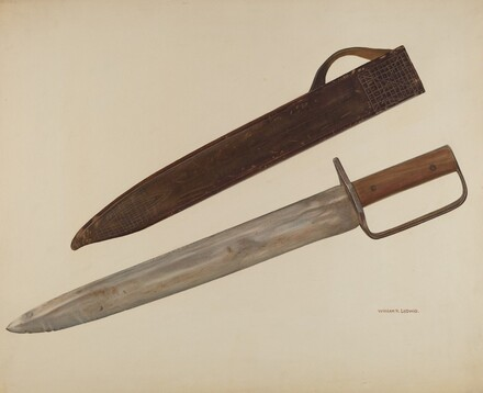 Trench Knife and Sheath