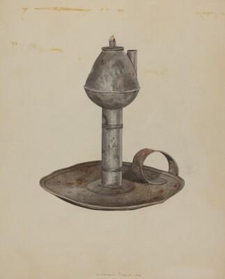 Colonial Lamp