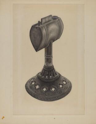 Lard Oil Lamp