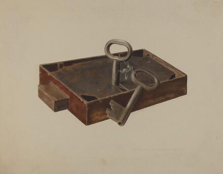 Bar Lock and Keys