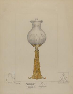Metal Base Lamp