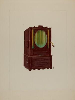 Cylinder Pipe Organ