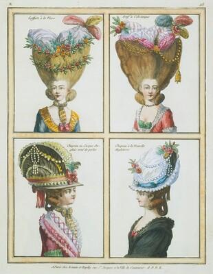 Galerie des modes et costumes francais ... (volume I)