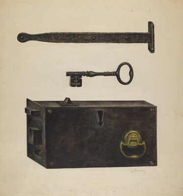 Lock, Key, Hinge