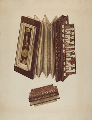 Woman's Accordian