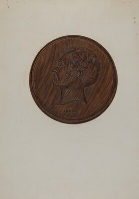 Wooden Medallion
