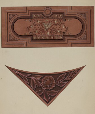 Inlaid Wood Panel