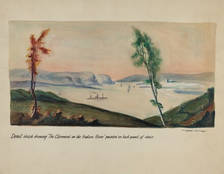 Clermont on Hudson Painting