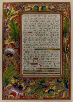 Illuminated Parable: Man Among Thieves