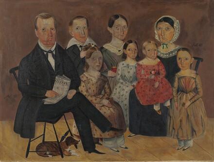 John J. Wagner Family Portrait