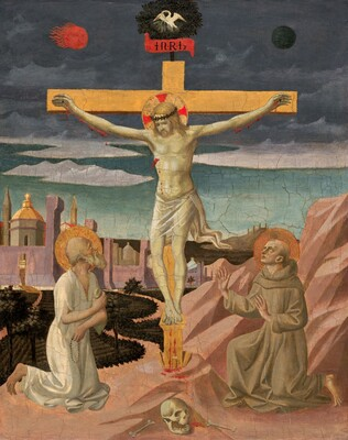 The Crucifixion with Saint Jerome and Saint Francis