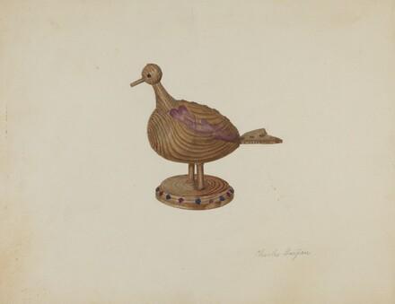 Pa. German Toy Bird