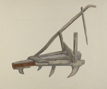 Wooden Harrow or Cultivator