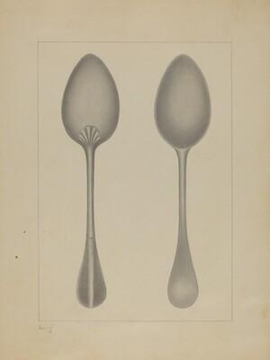 Pewter Spoon