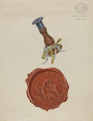 Bergen Academy Seal