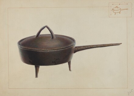 Iron Pot with Cover