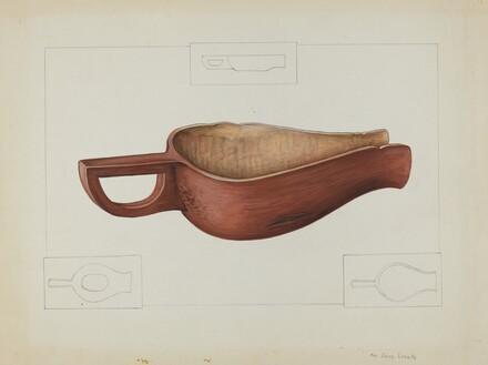 Wooden Meal Scoop