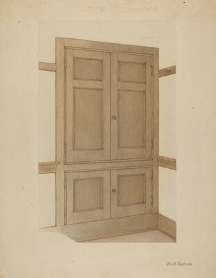 Shaker Room Cupboard