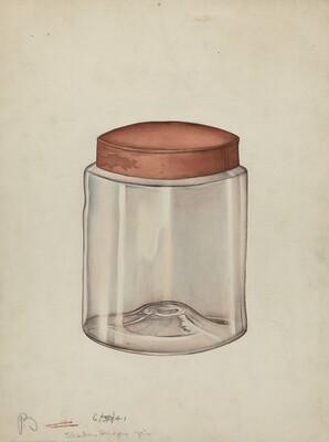 Shaker Sugar Jar