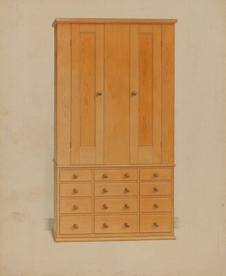 Shaker Cabinet with Drawers