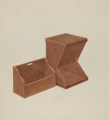Shaker Wood Box