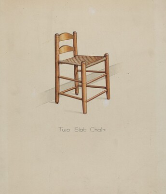Shaker Two Slat Chair
