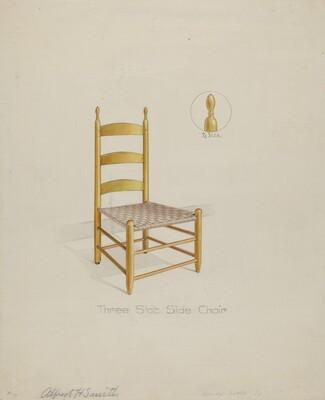 Shaker Three Slat Chair