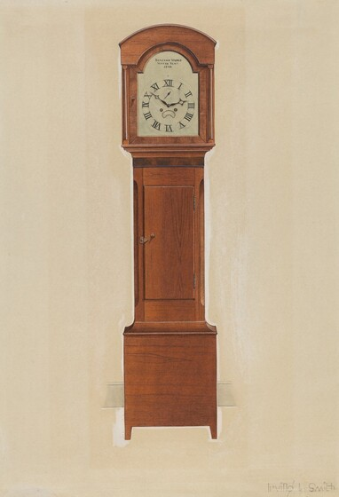 Clocks, Such As This One, Were Found In Shaker Dormitories And Shops. Its  Design Is A Simplified Version Of The Traditional New England Clock.
