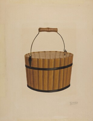 Shaker Wooden Basket