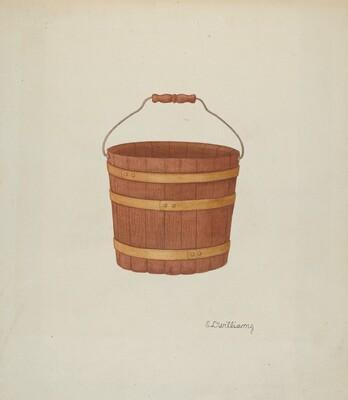 Shaker Cedar Basket