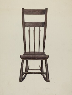 Shaker Nursing Chair