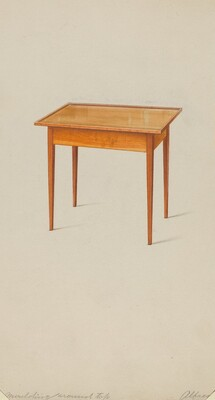 Shaker Small Table
