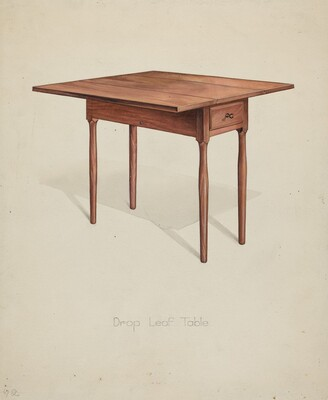 Shaker Drop-leaf Table