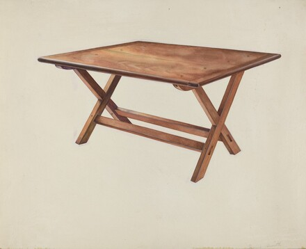 Shaker Ironing Table