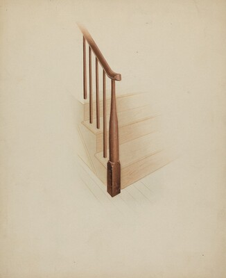 Shaker Newel Post