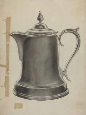 Pewter Coffee Urn