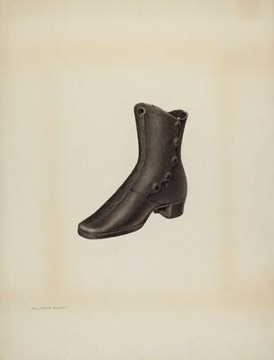 Iron Mannequin Shoe