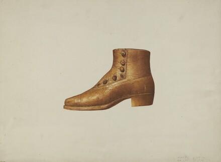 Shop Sign: Man's Shoe