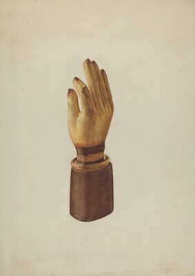 Hand Glove Advertisement