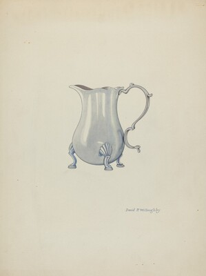 Silver Jug for Cream
