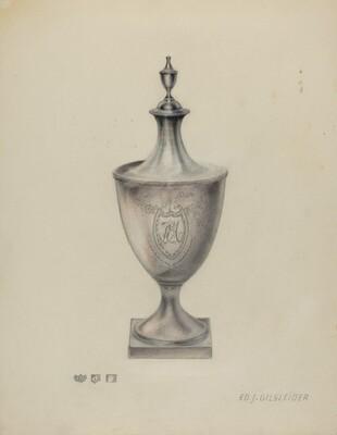 Silver Sugar Urn
